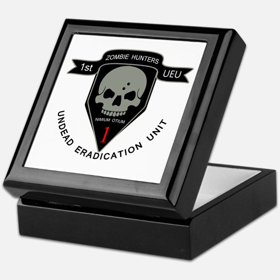 1st Zombie Hunters Keepsake Box
