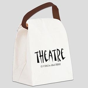 theatrestage1 Canvas Lunch Bag