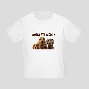 OBAMA DOGS Toddler T-Shirt