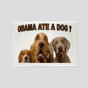 OBAMA DOGS Rectangle Magnet