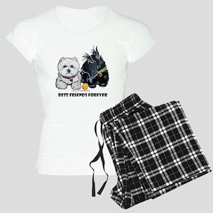 Scottie & Westie Best Friends Women's Light Pajama