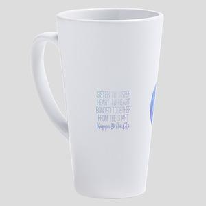 Kappa Delta Chi Sister 17 oz Latte Mug