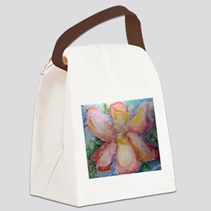 Orchid! Beautiful flower art! Canvas Lunch Bag