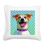 Comical Jack Square Canvas Pillow