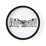 Airmail Wall Clock
