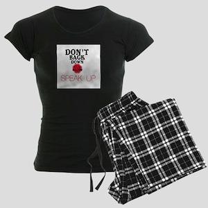 Stop Bullying Women's Dark Pajamas