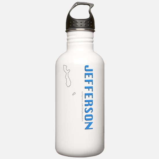 Cute Jefferson Water Bottle