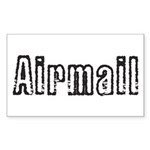 Airmail Sticker (Rectangle)