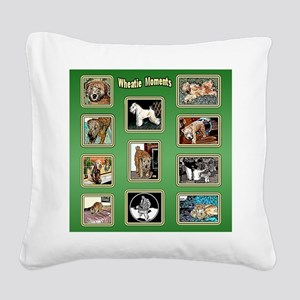 WHEATIE MOMENTS Square Canvas Pillow