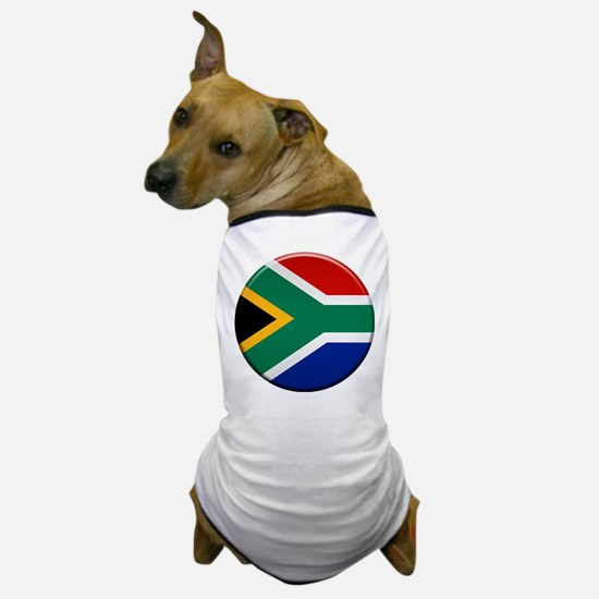 South African Button Dog T-Shirt