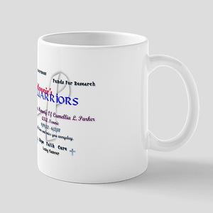Nonnie's Warriors Lung Cancer Awareness Mug