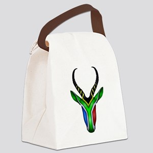 Springbok Flag Canvas Lunch Bag