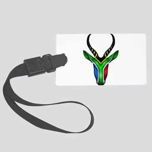 Springbok Flag Large Luggage Tag