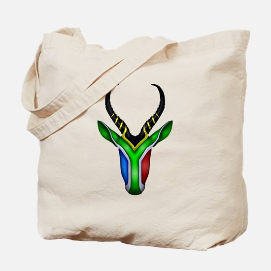 Springbok Flag Tote Bag