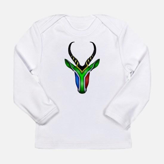 Springbok Flag Long Sleeve Infant T-Shirt
