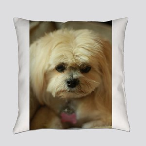 indoor dogs Everyday Pillow