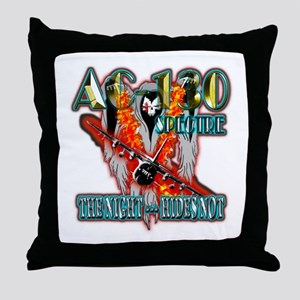 AC-130 Spectre The Night Hides Not Throw Pillow