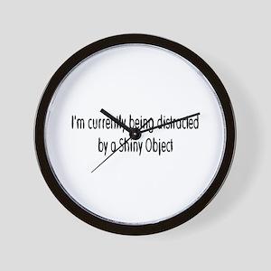 shiny object Wall Clock