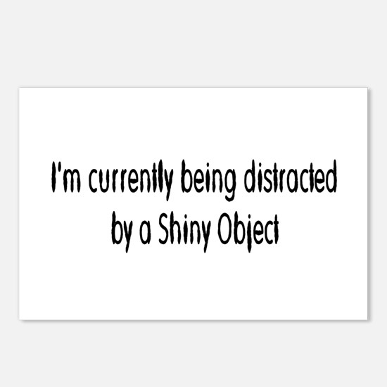shiny object Postcards (Package of 8)