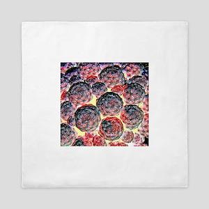 Great Balls Of Fire Cactus Queen Duvet