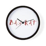 Bag Rat Wall Clock