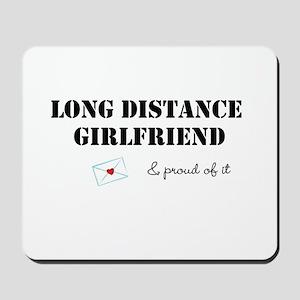 Long Distance Girlfriend Mousepad