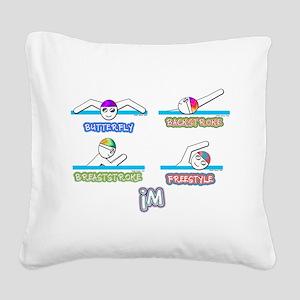 IM Square Canvas Pillow