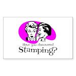 stamp_secrets Sticker (Rectangle 50 pk)
