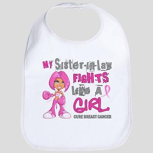 Licensed Fight Like A Girl 42.9 Breast Cancer Bib