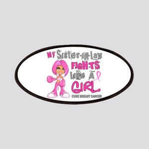 Licensed Fight Like A Girl 42.9 Breast Cance Patch
