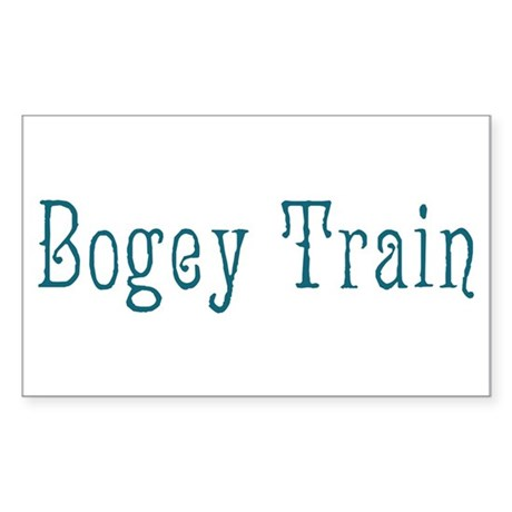 Bogey Train Sticker (Rectangle)