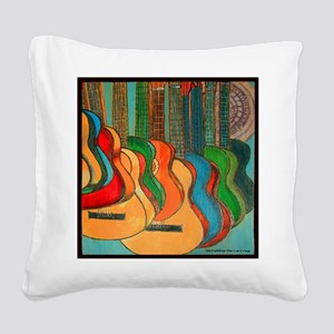 Strings Square Canvas Pillow