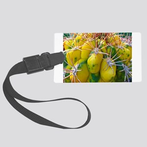 Prickly Cactus Large Luggage Tag