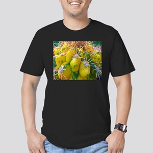 Prickly Cactus Men's Fitted T-Shirt (dark)