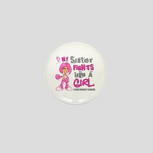 Licensed Fight Like A Girl 42.9 Breast Mini Button