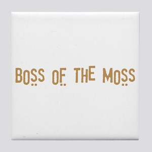 Boss of the Moss Tile Coaster