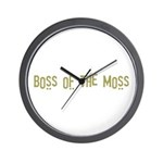 Boss of the Moss Wall Clock