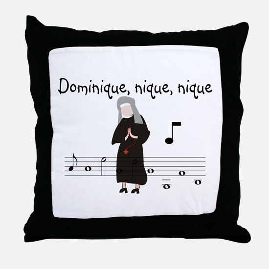Dominique.PNG Throw Pillow
