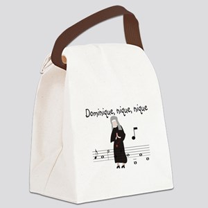 Dominique Canvas Lunch Bag