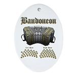 Bandoneon 2 Ornament (Oval)