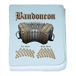 Bandoneon 2 baby blanket