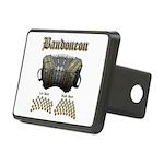 Bandoneon 2 Rectangular Hitch Cover