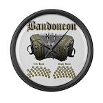 Bandoneon 2 Large Wall Clock