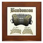 Bandoneon 2 Framed Tile