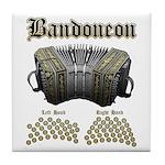 Bandoneon 2 Tile Coaster