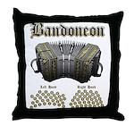 Bandoneon 2 Throw Pillow