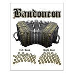 Bandoneon 2 Small Poster