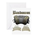Bandoneon 2 Greeting Cards (Pk of 20)