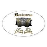 Bandoneon 2 Sticker (Oval 10 pk)