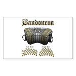 Bandoneon 2 Sticker (Rectangle 50 pk)